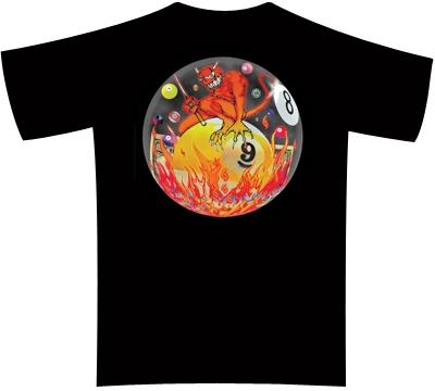 Dead Stroke Pool T-Shirt – It's Hell