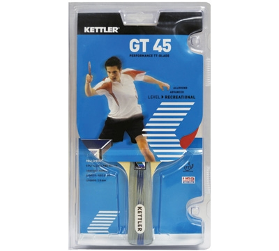 Kettler GT 45 Table Tennis Paddle