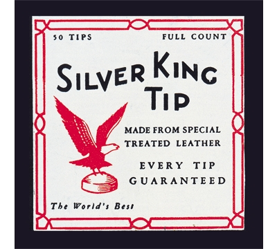 Silver King Cue Tips – 14mm