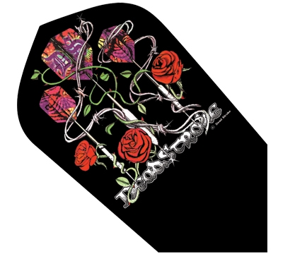 Dead Stroke Roses Poly Slim Flight