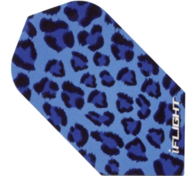 i-Flight Blue Leopard Slim Flight