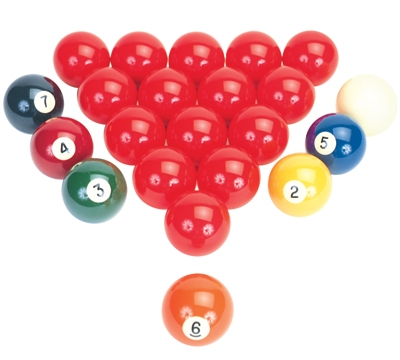 "Aramith 2 1/4"" American Snooker Ball Set"