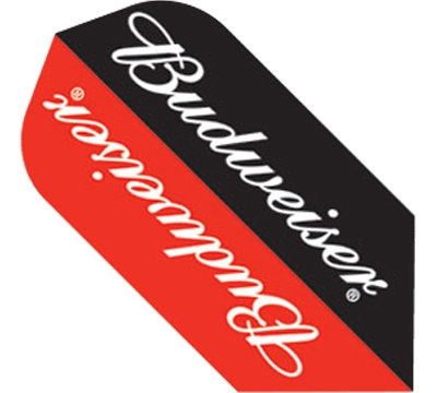 Budweiser® Red/Black Slim Flight