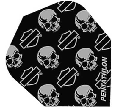 Harley-Davidson® Standard Poly Flight Skulls