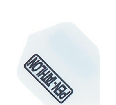 White Double-Thick Poly Pentathlon Mini Flight