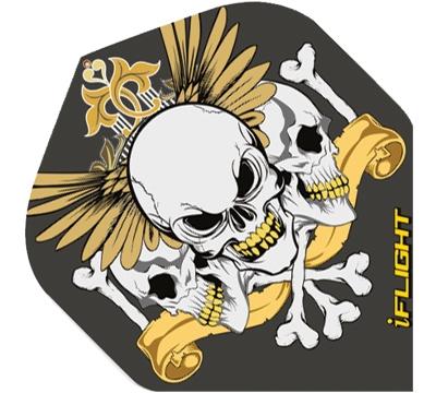 i-Flight Winged Skulls Standard Flight