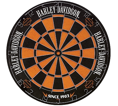 Harley-Davidson Traditional Bristle Dartboard