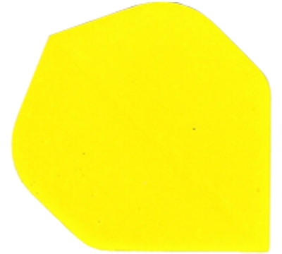 Yellow Standard Hard Poly Flight