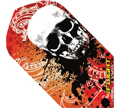 i-Flight Paisley Skull Slim Flight