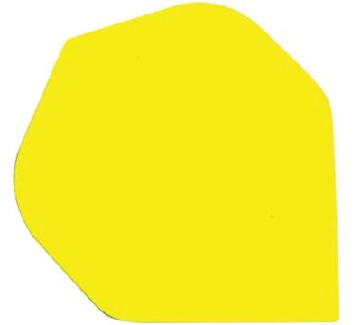 Neon Yellow Standard Hard Poly Flight