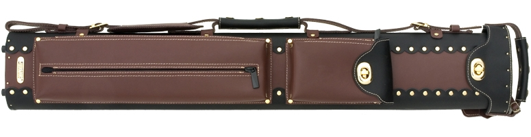 3x7 Instroke Leather Cowboy Cue Case