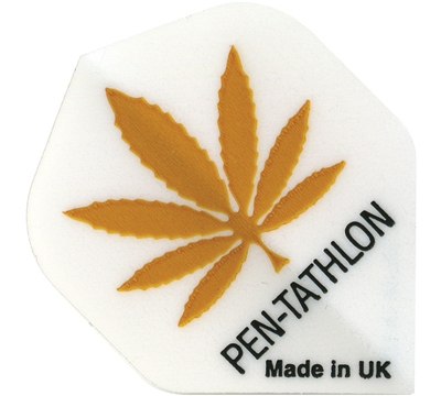 Hemp Leaf Double-Thick Poly Pentathlon Flight