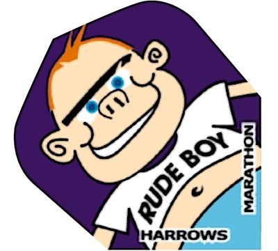 Rude Boy Marathon Hard Poly Standard Flight