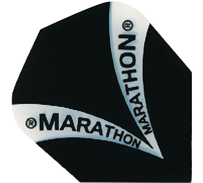 Black Marathon Hard Poly Standard Flight