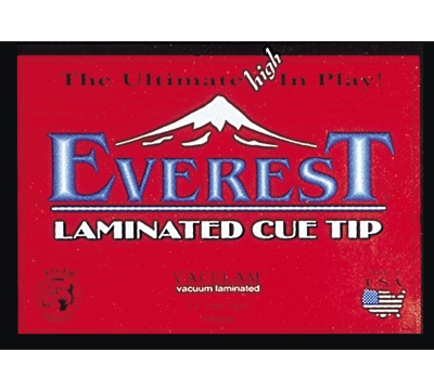 Everest Laminated Cue Tip