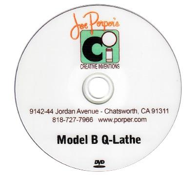 Model B Q-Lathe Instructional DVD