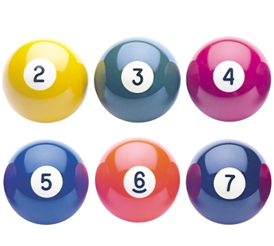 "Aramith 2-1/8"" Replacement American Snooker Balls"