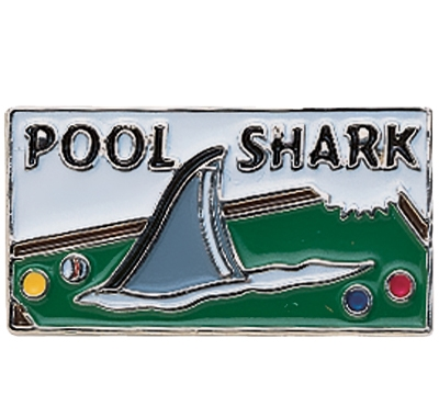 Pool Shark Pin