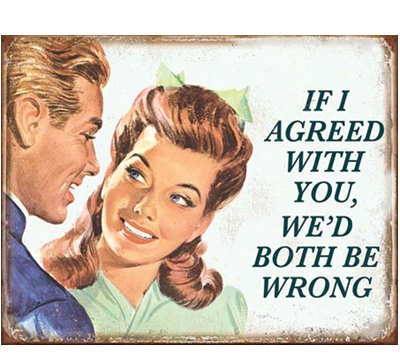 If I Agreed Metal Sign