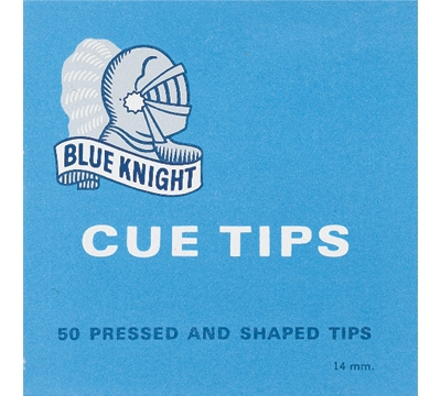 Blue Knight Cue Tips – 14mm