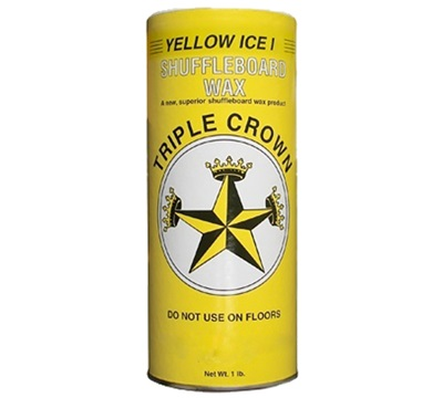Yellow Ice I Shuffleboard Wax