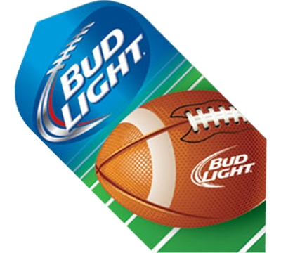 Bud Light Football Slim Flight