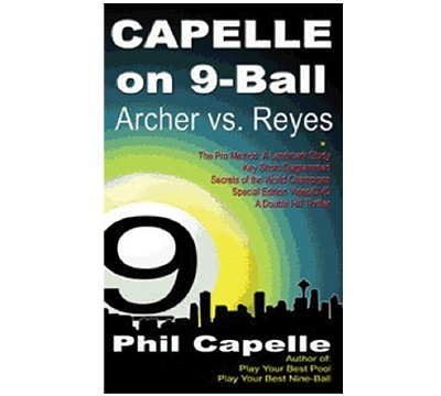 Capelle On 9 Ball Book/DVD