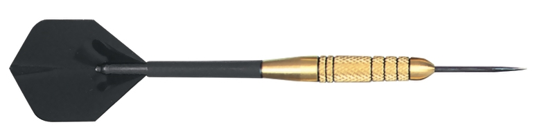 Exec Brass Steel Tip Dart 25g knurled