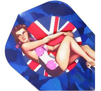 British Flag 2D/3D Standard Flight