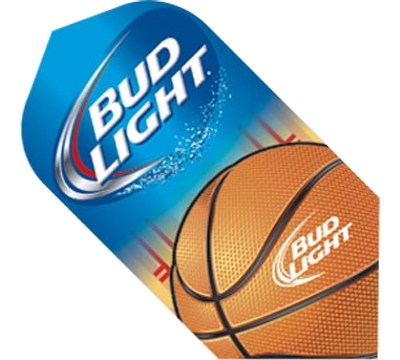 Bud Light Basketball Slim Flight