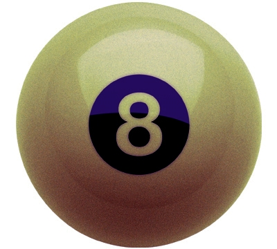 Golden 8-Ball