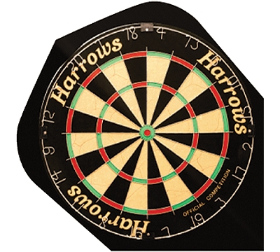 POLY STANDARD FLIGHT DARTBOARD
