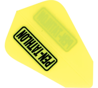 Pen-tathlon Poly Lantern Neon Yellow Flight
