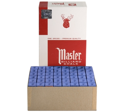 Blue Master Billiard Chalk – Box/144
