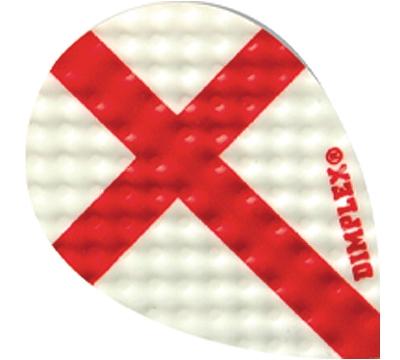 Red Cross Dimplex Teardrop Flight