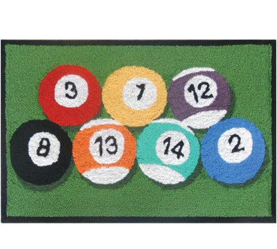 Frontporch Billiard Rug
