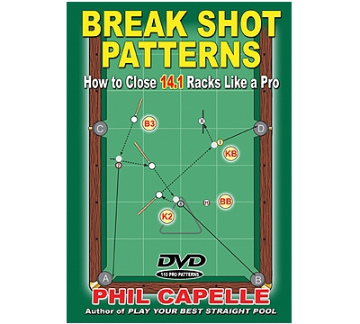 Break Shot Patterns Book/Dvd