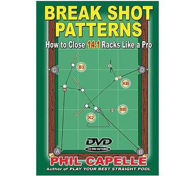 Break Shot Patterns Book/Dvd