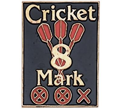 Cricket 8 Mark Pin