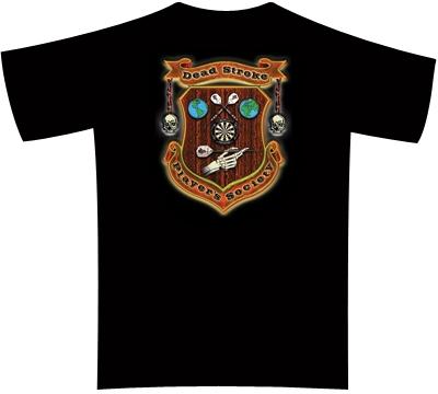 Dead Stroke Dart T-Shirt – Dart Player's Society