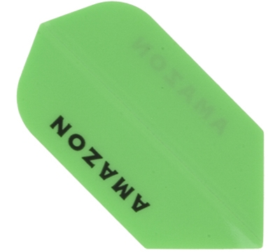 Neon Green Amazon Hard Poly Slim Flight
