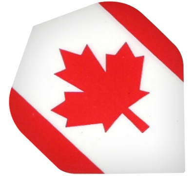 Canadian Flag Hard Poly Flight