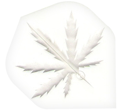 Clear Hemp Leaf Poly Met Flight