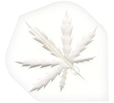 Clear Hemp Leaf Poly Met Flight