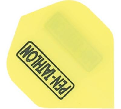 Neon Yellow Double-Thick Poly Pentathlon Flight