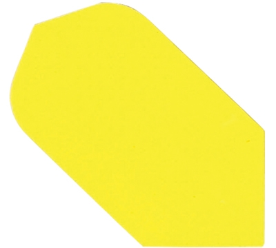 YELLOW HARD POLY SLIM FLIGHT