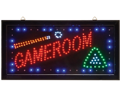 LED Sign Game Room