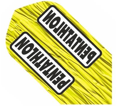 Pentathlon Poly Slim Flight-Yellow