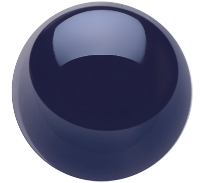Black Belgian Aramith Cue Ball