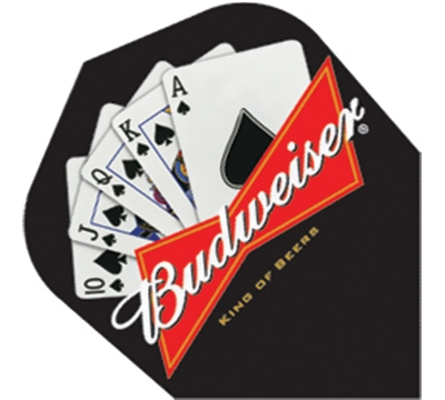 Budweiser® Royal Flush Poly Flight